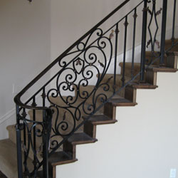 Interior Iron Railings - Roseville, CA