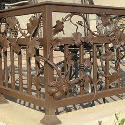 Exterior Iron Railings - Roseville, CA