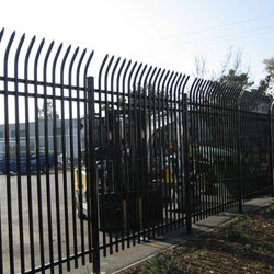 Commercial Iron Fence Roseville, CA